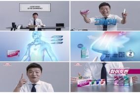 한국다케다제약, 김생민 출연 '화이투벤' TV 광고 선보여