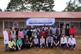 일동제약, 케냐 무하카 지역 의료봉사활동 전개