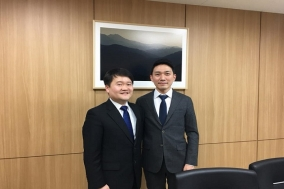 기동훈 의협 회장 후보, 본격적인 선거 행보 나서