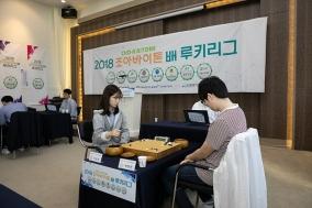 '2018 조아바이톤배 바둑루키리그' 후반기 돌입…강원 인제 선두