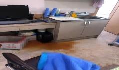 진료실 오물투척하고 의사 발로 가격한 환자 긴급체포