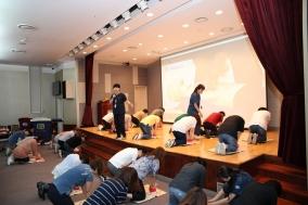 인천성모병원, 인천시 교직원 대상 '2019 응급처치 교육' 실시