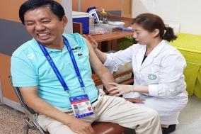 사노피 파스퇴르, 광주세계수영대회 종사자 A형간염 예방접종