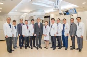고대안산병원, 방사선 암치료장비 'Truebeam STx' 가동