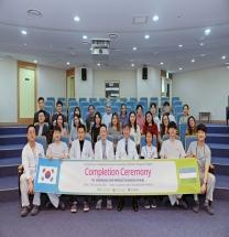 양산부산대병원, 우즈벡 국립아동병원 건립사업 초청 연수 수료식 개최