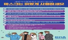 의협 코로나19 대책본부, 마스크 사용 권고안 발표