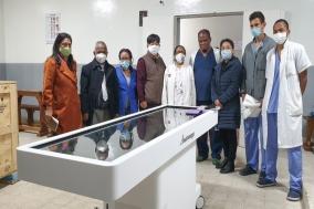 고대의료원, 阿마다가스카르에 가상해부 시뮬레이터 지원