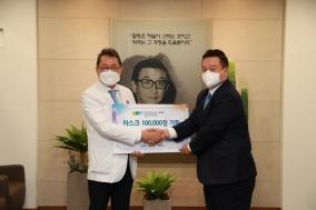 대우산업개발, 순천향서울에 마스크 10만장 기부