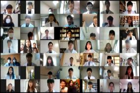 고대의대, '2021학년도 화이트코트 세리머니' 개최