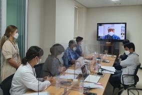 충북대병원 충북지역암센터, 상반기 암관리사업 협의체 회의 개최
