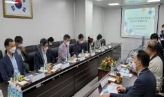 국회 보건복지위원장 일행, 한국유나이티드제약 세종2공장 방문
