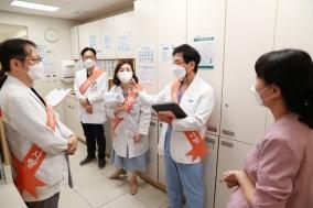 병원에선 환자 안전이 무엇보다 중요하다.